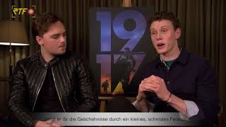 "Interview zum Oscar-nominierten Kriegsfilm ""1917"""