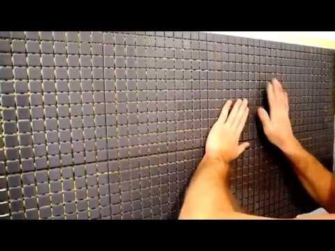 укладка мозаики на кухне ч 3