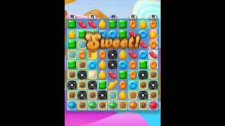 Candy Crush Jelly Saga - Level 156 (3 star, No boosters)