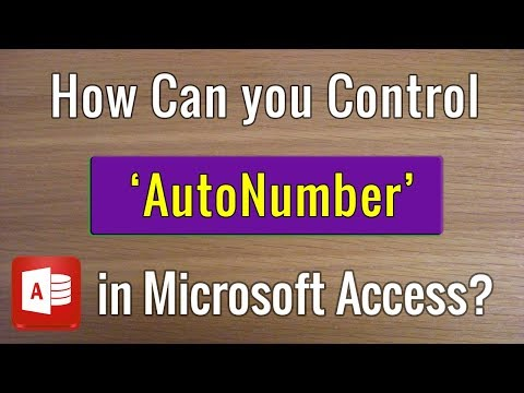 How to Generate a Custom AutoNumber in MS Access?