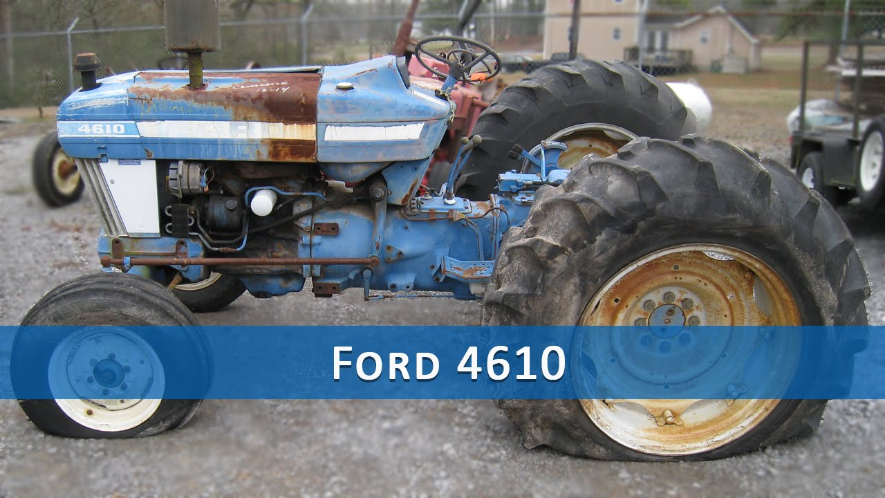 ford 4610 tractor parts [ 1280 x 720 Pixel ]