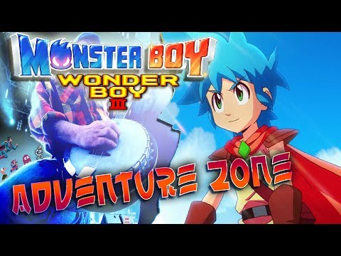 Wonderboy 3 - Adventure zone - Monster Boy Cover thumbnail