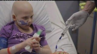 شیوه جدید درمان موفقیت آمیز سرطان خود در کودکان