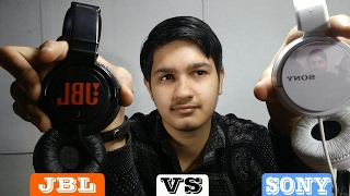 Comparison Between JBL T250SI VS SONY MDR ZX110A UNBOXING !!!