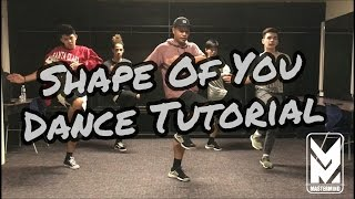 Download Video Shape Of You Dance Cover Tutorial | Mastermind MP3 3GP MP4