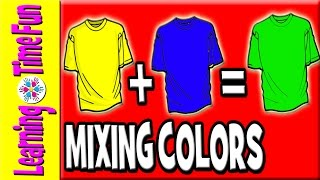 Mixing Colors for Children | Color Mixing for Kids | Colors in English | Learn to Mix Colors