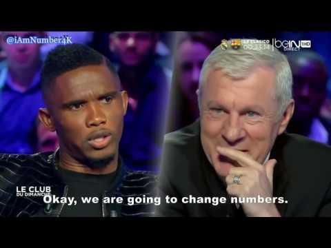 Samuel Eto'o on Pep Guardiola (2014) - FULL INTERVIEW with English Subtitles