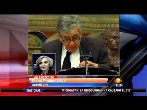Elena Poniatowska habla sobre José Emilio Pacheco en Primero Noticias