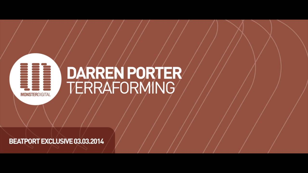 Darren Porter Terraforming Preview Youtube