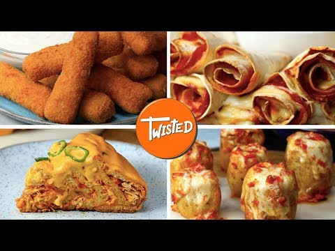 15 Tasty Cheesy Recipes For Your Next  Party | Party Appetizers | Twisted