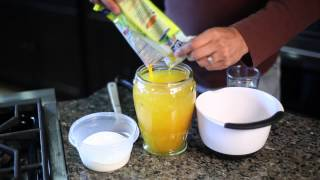 How To Make A Non-alcoholic Passion Fruit Punch : Latin-twisted Dishes