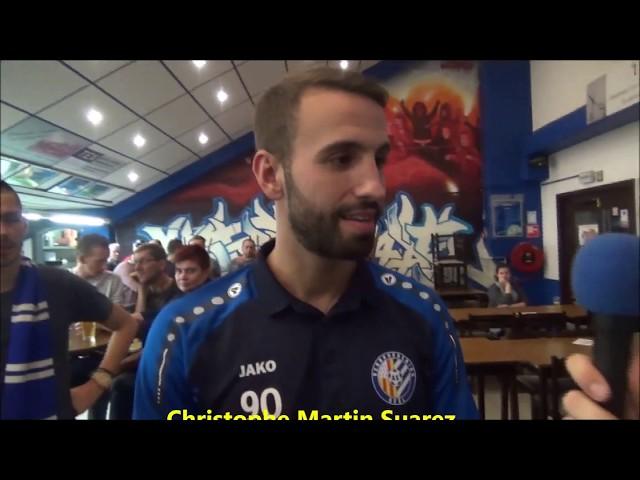 ASV Geel - KSK Heist 13-10-2018 interview Christophe Martin Suarez