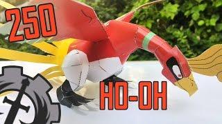 Como hacer ... a Ho-oh  Papercraft