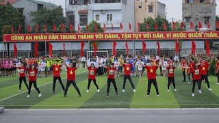 Những ngày xuân rực rỡ | CLB Dân vũ T32 | Học viện cảnh sát nhân dân