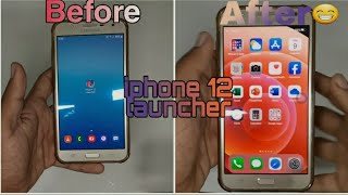 Turn your Android into iphone 12 free 💯% working [no root] os 14 launcher 《iphone launcher》 🔥🔥 screenshot 2