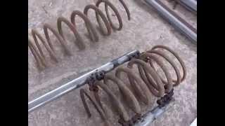 Encolhedor de molas caseiro