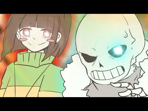 2D SANS VS CHARA BATTLE | Undertale: The Judgement (Undertale fangame)