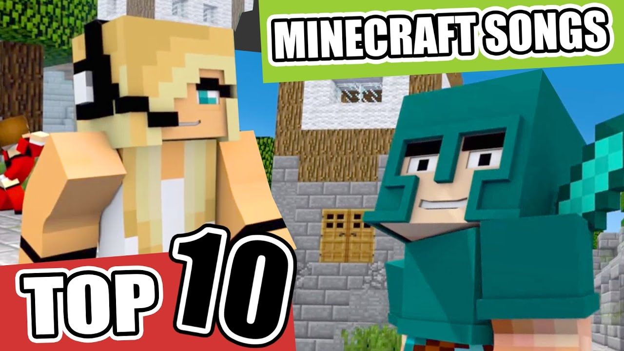 Top 12 Minecraft Songs/Animations of March 12 ♪ NEW Minecraft Song and  Music Videos