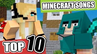 Top 10 Minecraft Songs/Animations of March 2017 ♪ NEW Minecraft Song and Music Videos
