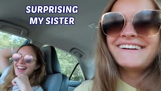 Surprising My Sister