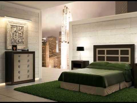 Armarios de dormitorio camas de matrimonio mesillas y sinfonieres youtube - Armarios rinconeros dormitorio matrimonio ...
