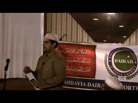 Speech by Shiraz Mohammed Khan at Two Day Event, CHICAGO, USA.