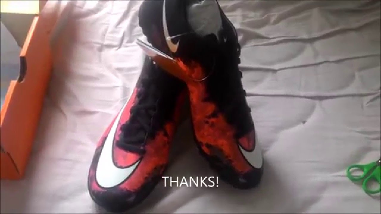 Unboxing Chuteira Nike Mercurial Victory V CR TF - YouTube 3d03d32162b03