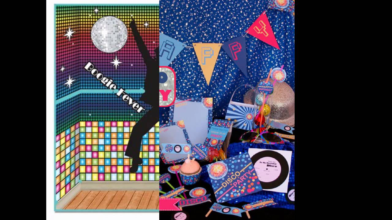 cool disco party decorations - Disco Party Decorations