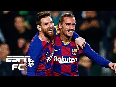 Barcelona vs. Dortmund analysis: Are Messi and Griezmann starting to click at Barcelona? | ESPN FC