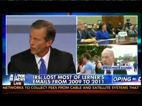 "Thune Goes ""On the Record"" to Discuss Growing IRS Scandal"