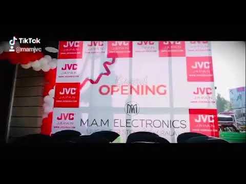 M. A. M ELECTRONICS  JVC SHOEROOM IN KERALA