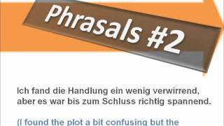 Dialogue Going to the Movies - Phrases #2 - Learn German with Martha - Deutsch lernen