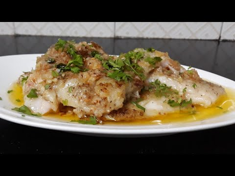 Basa Fish With Lemon And Butter Sauce#basa Fish Fry#lemon# Ginger Garlic Butter# Sauce#yummy#