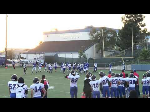 Clayton Valley Charter High School vs Oakland HS, Shane Nelson kicks FG