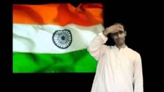 Indian National Anthem in Universal Design (Indian Sign Language)