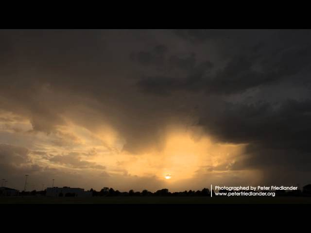 Storm Clouds Time-Lapse