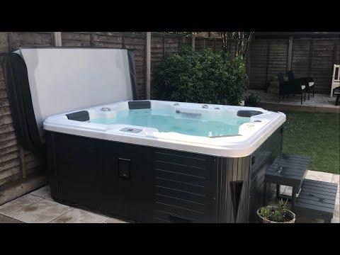 Hot Tub Setup - Americano Hot Tub