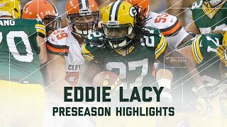 Eddie Lacy Highlights | Browns vs. Packers | NFL
