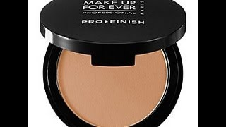 Makeup Forever Pro Finish Powder and HD Green Primer Review/Demo Thumbnail