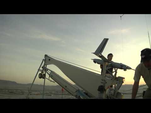 Australian Scan Eagle U.A.V. Operating In Afghanistan - SSG Bernardo Fuller - 16th MPAD