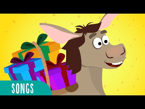 Little Donkey - Juana la Iguana Kids Songs