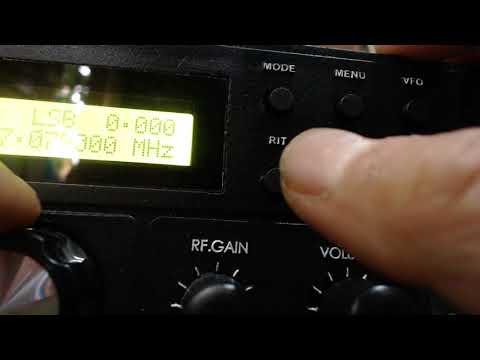 USER MANUAL RADIO JJ HF SSB TRANSCIEVER