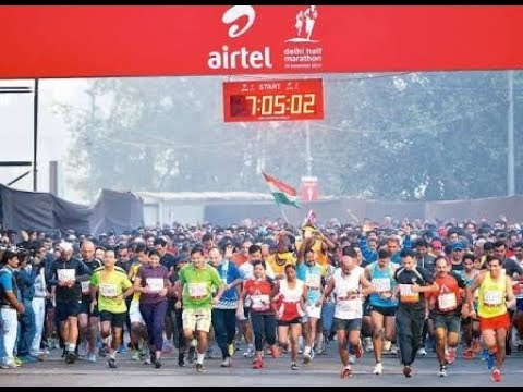 Delhi Half marathon loud start with superb energy in crowd