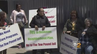 Mott Haven Residents Protest Proposed Jail Site