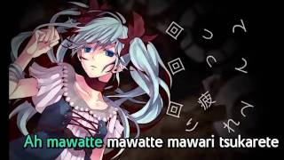 【Karaoke】Karakuri Pierrot【off vocal】 40m-P