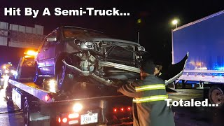 Car Accident with a Semi-Truck