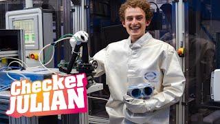 Der Laser-Check | Reportage für Kinder | Checker Julian