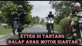 ETTEH di Tantang Balap Sama Anak Motor PEMATANG SIANTAR lawak comedy #balap #siantar #medan #barbar