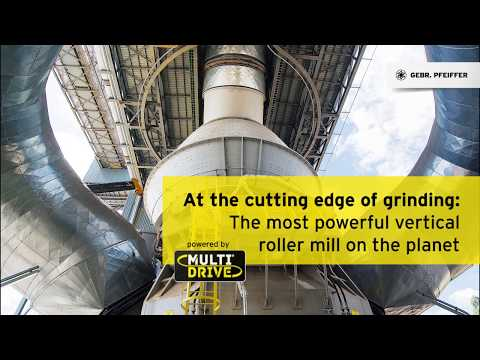 MVR 6700 C-6 cement mill with MultiDrive®, Holcim Barroso, Brazil