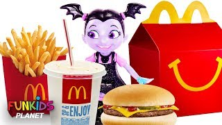 Vampirina Eats Happy Meal From McDonalds
